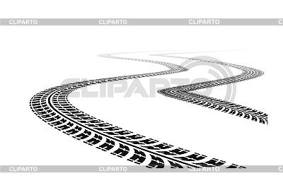 Reifenspuren | Stock Vektorgrafik |ID 3138430
