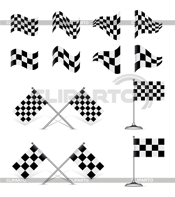 Racing Flags, set | Stock Vector Graphics |ID 3138693