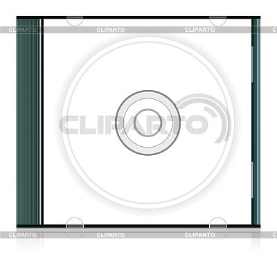 Blank cd box   Klipart wektorowy  ID 3138797