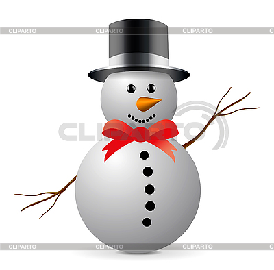 Snowman | Stock Vector Graphics |ID 3142892