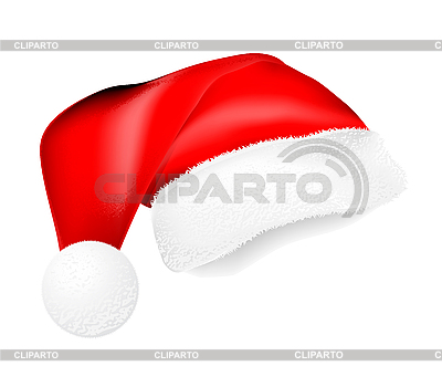 Czerwona czapka Mikołaja | Klipart wektorowy |ID 3143321