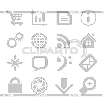 Ikony aplikacji | Klipart wektorowy |ID 3154218