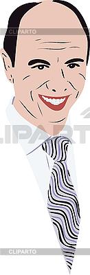 Bald man in tie   Stock Vector Graphics  ID 3059104