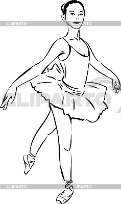 Ballerina  | Stock Vector Graphics |ID 3059257