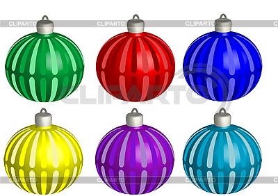 Christmas balls | Stock Vector Graphics |ID 3054642