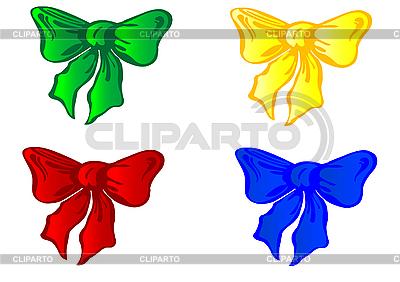彩色蝴蝶结 | 向量插图 |ID 3054692