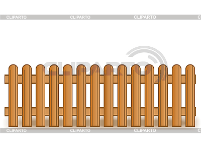 Wooden brown fence | High resolution stock illustration |ID 3054774