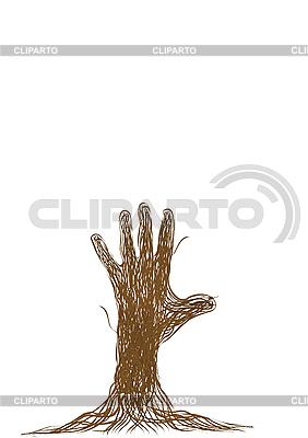 Hand   Illustration mit hoher Auflösung  ID 3054783