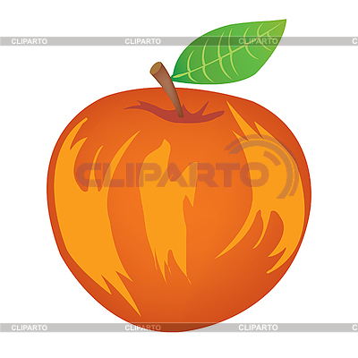 Reifer Apfel | Stock Vektorgrafik |ID 3061874