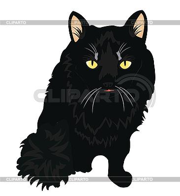 Black cat | Stock Vector Graphics |ID 3061943
