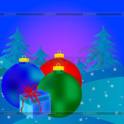 Christmas balls   Stock Vector Graphics  ID 3106592