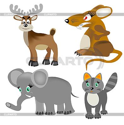 Animals set   Stock Vector Graphics  ID 3106634