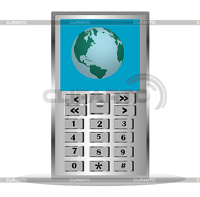 Mobile telephone   Stock Vector Graphics  ID 3106800