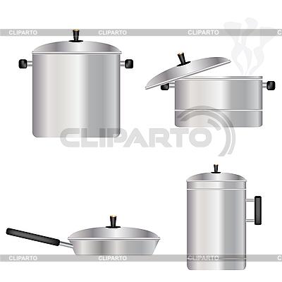 Geschirr für die Küche | Stock Vektorgrafik |ID 3128693
