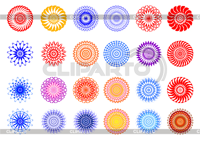 Ornament dingbat set | Stock Vector Graphics |ID 3064821