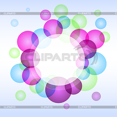 Circгcular abstract colored background | Stock Vector Graphics |ID 3068199