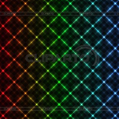 摘要霓虹灯电网背景 | 向量插图 |ID 3068285
