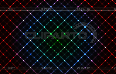Abstract neon grid background | Stock Vector Graphics |ID 3070916