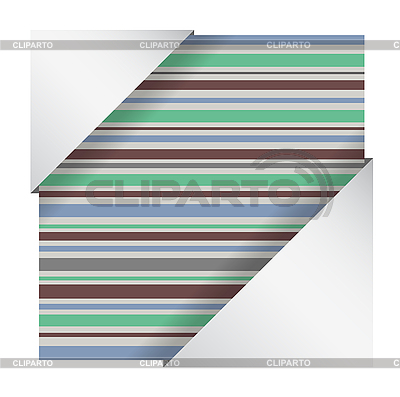 Abstract striped card | Stock Vector Graphics |ID 3073429
