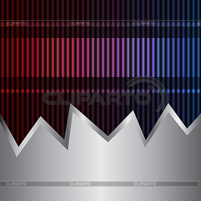 Neon and metal background | Stock Vector Graphics |ID 3073722