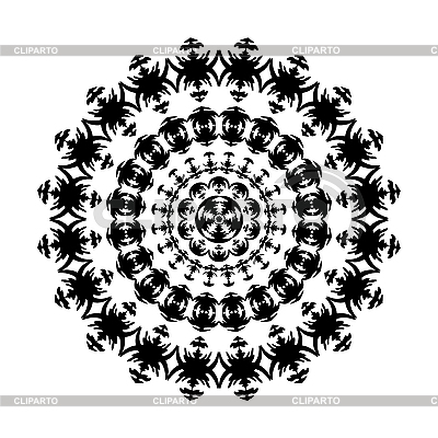 Black and white ornament | Stock Vector Graphics |ID 3079432