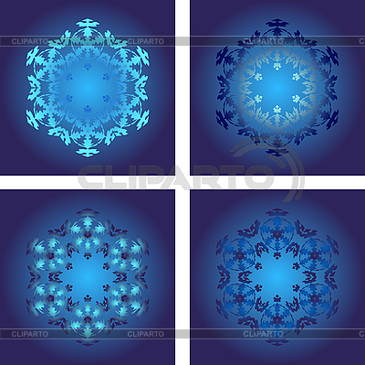 Set of snowflakes | Stock Vector Graphics |ID 3079446
