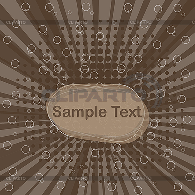 Dynamic grunge background in brown color | Stock Vector Graphics |ID 3080394