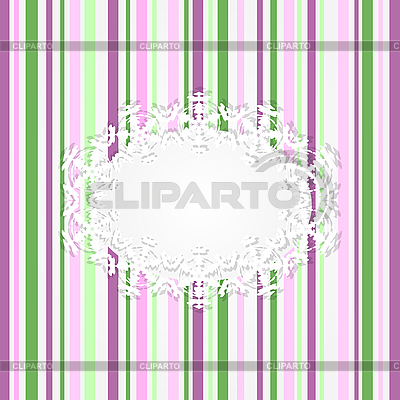 Striped pink card | Stock Vector Graphics |ID 3080999