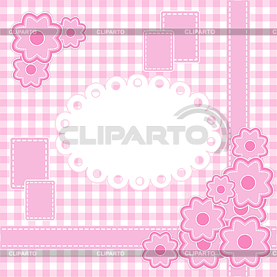 Baby girl card | Stock Vector Graphics |ID 3081856