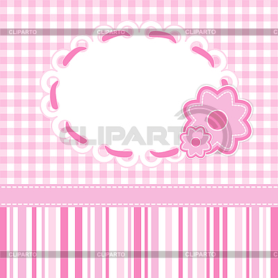 Baby girl card | Stock Vector Graphics |ID 3081858