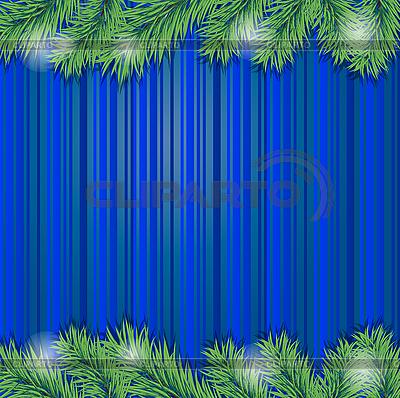 크리스마스 트리 분기 프레임 | 벡터 클립 아트 |ID 3081980