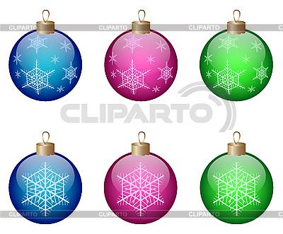 Christmas balls | Stock Vector Graphics |ID 3082680