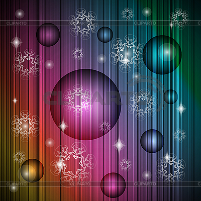 Neon new year christmas background | Stock Vector Graphics |ID 3094768
