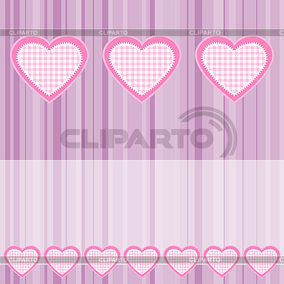 Background with pink hearts | Stock Vector Graphics |ID 3103867