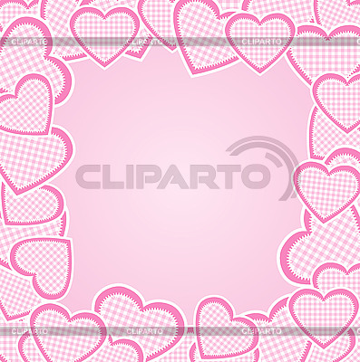 Frame of hearts | Stock Vector Graphics |ID 3116175