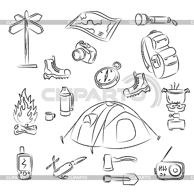 Camping | Stock Vector Graphics |ID 3059442