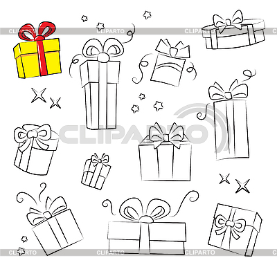 Gifts | Stock Vector Graphics |ID 3059498