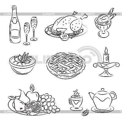 Holiday Evening | Stock Vector Graphics |ID 3059500