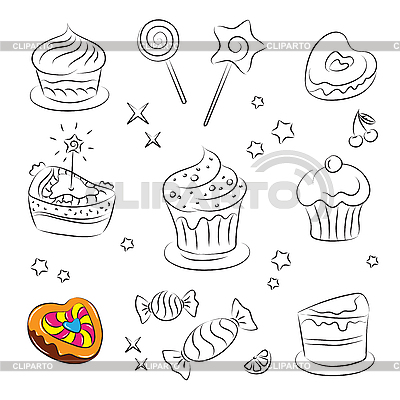Holiday Sweets | Stock Vector Graphics |ID 3059502