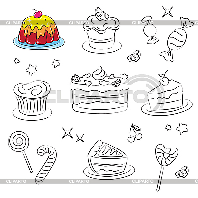Holiday Sweets | Stock Vector Graphics |ID 3059504
