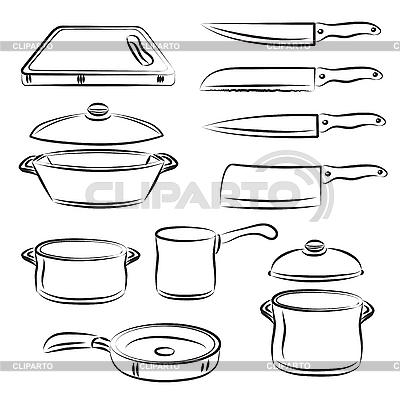 Kitchen Utensils | Stock Vector Graphics |ID 3059506