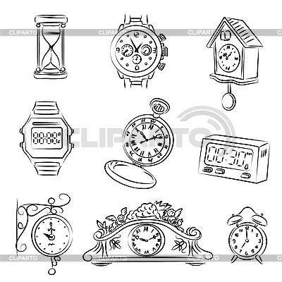 Watches | Stock Vector Graphics |ID 3059623