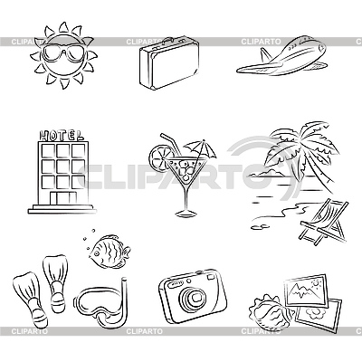 Sea Vacation | Stock Vector Graphics |ID 3060649