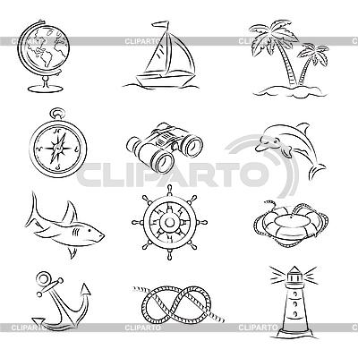 Морской круиз | Векторный клипарт |ID 3060651