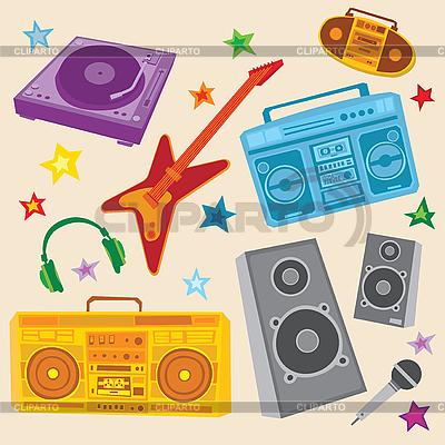 Music Set | Stock Vector Graphics |ID 3063091