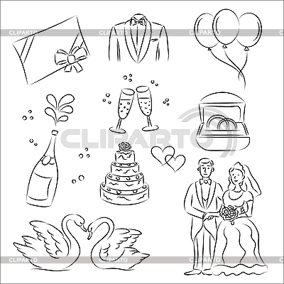 Wedding | Stock Vector Graphics |ID 3063105