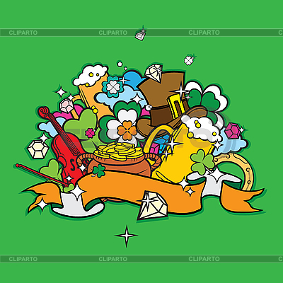 St. Patrick Day design | Stock Vector Graphics |ID 3097338