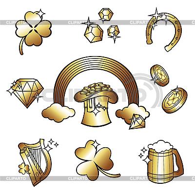 St Patrick Day | Klipart wektorowy |ID 3097344