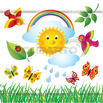 Spring Nature | Stock Vector Graphics |ID 3097356