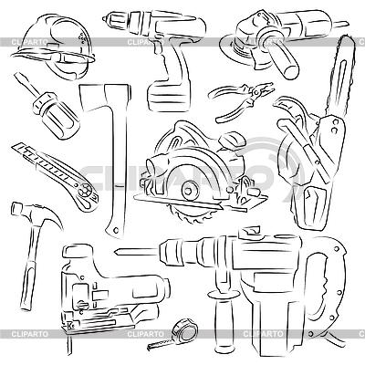 工具和结构 | 向量插图 |ID 3097368